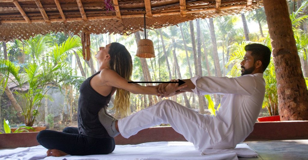 The 300 hr Yoga Teacher Training includes Ashtanga Yoga Adjustments.